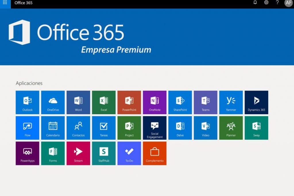 Office 365 aplicaciones para su empresa